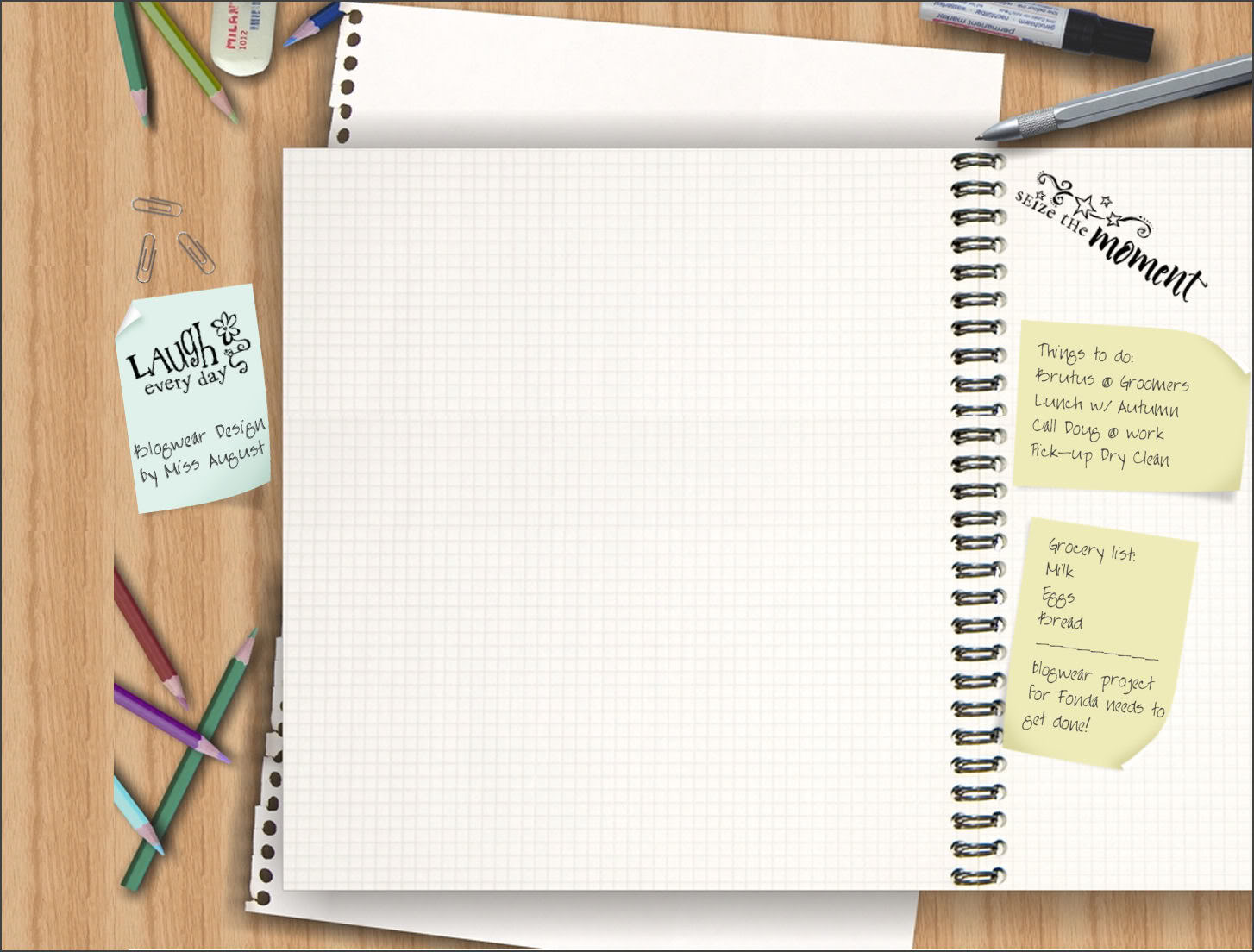 Back to school mangafanatic 39 s talking about anime - Wallpaper notebook paper ...